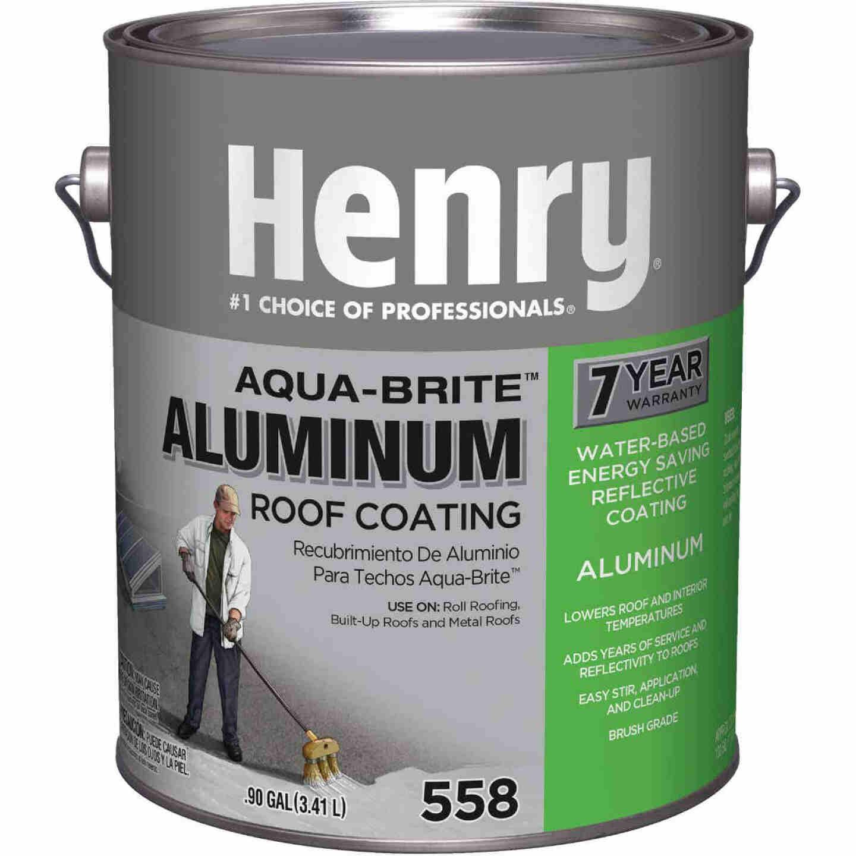 Henry Aqua-Brite 1 Gal. Fibered Aluminum Roof Coating Image 1