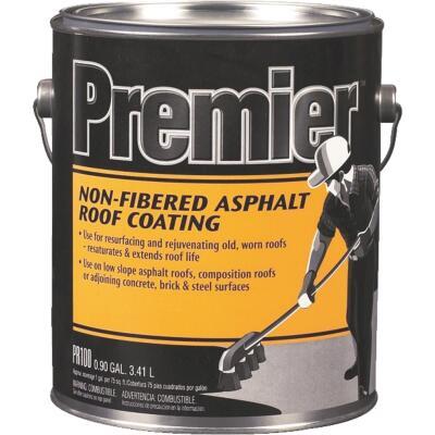 Premier 1 Gal. Non-Fibered Asphalt Roof Coating