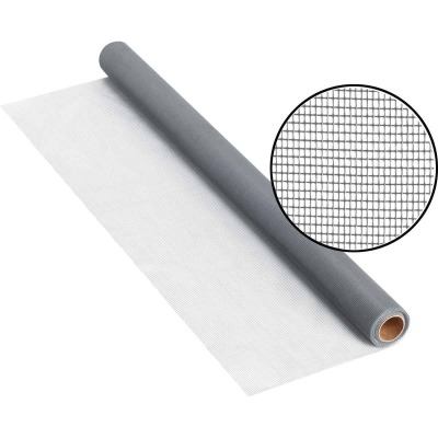 Phifer 48 In. x 25 Ft. Gray Fiberglass Screen Cloth