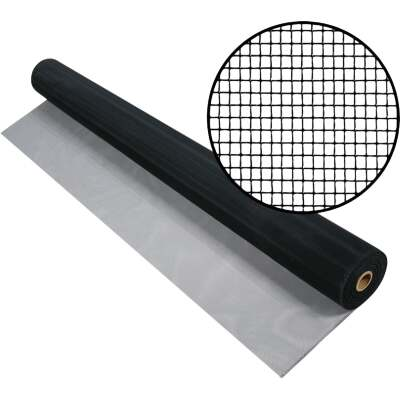 Phifer 36 In. x 84 In. Charcoal Aluminum Screen Ready Rolls