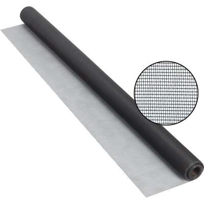 Phifer 48 In. x 25 Ft. Charcoal Fiberglass Screen Cloth
