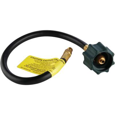 MR. HEATER 18 In. x 1/4 In. Inverted Male Flare x 3/8 In. Acme Nut LP Hose Assembly