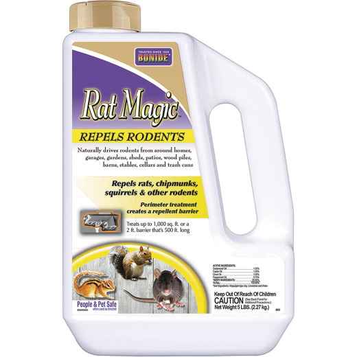 Bonide Rat Magic 5 Lb. Granular Rodent Repellent