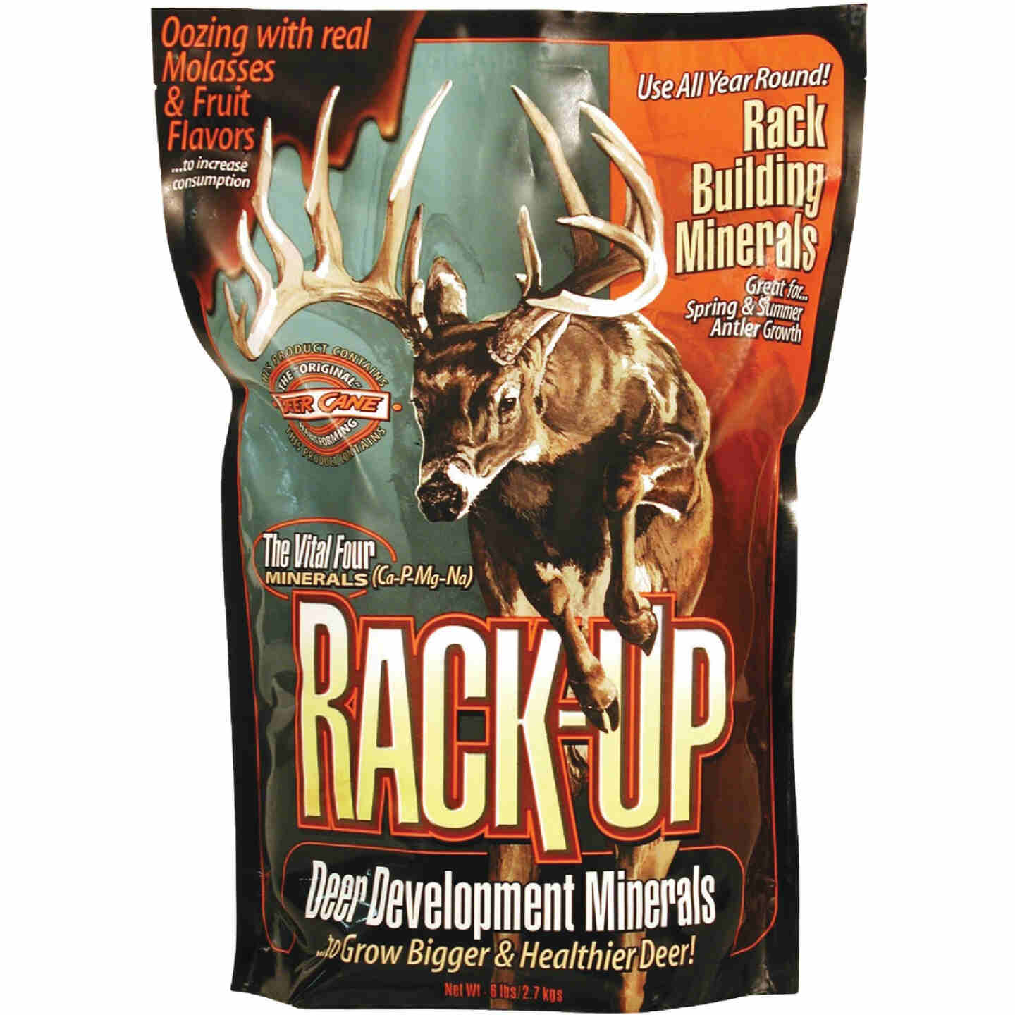 Rack-Up 6 Lb. Granular Blended Mineral Supplement Deer Attractant Image 1