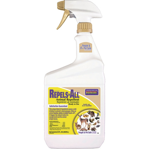 Bonide Repels All 1 Qt. Ready To Use Animal Repellent