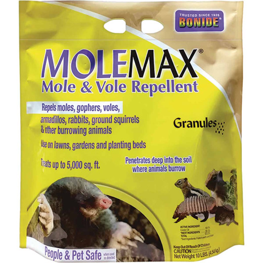 Bonide Molemax 10 Lb. Granular Animal Repellent