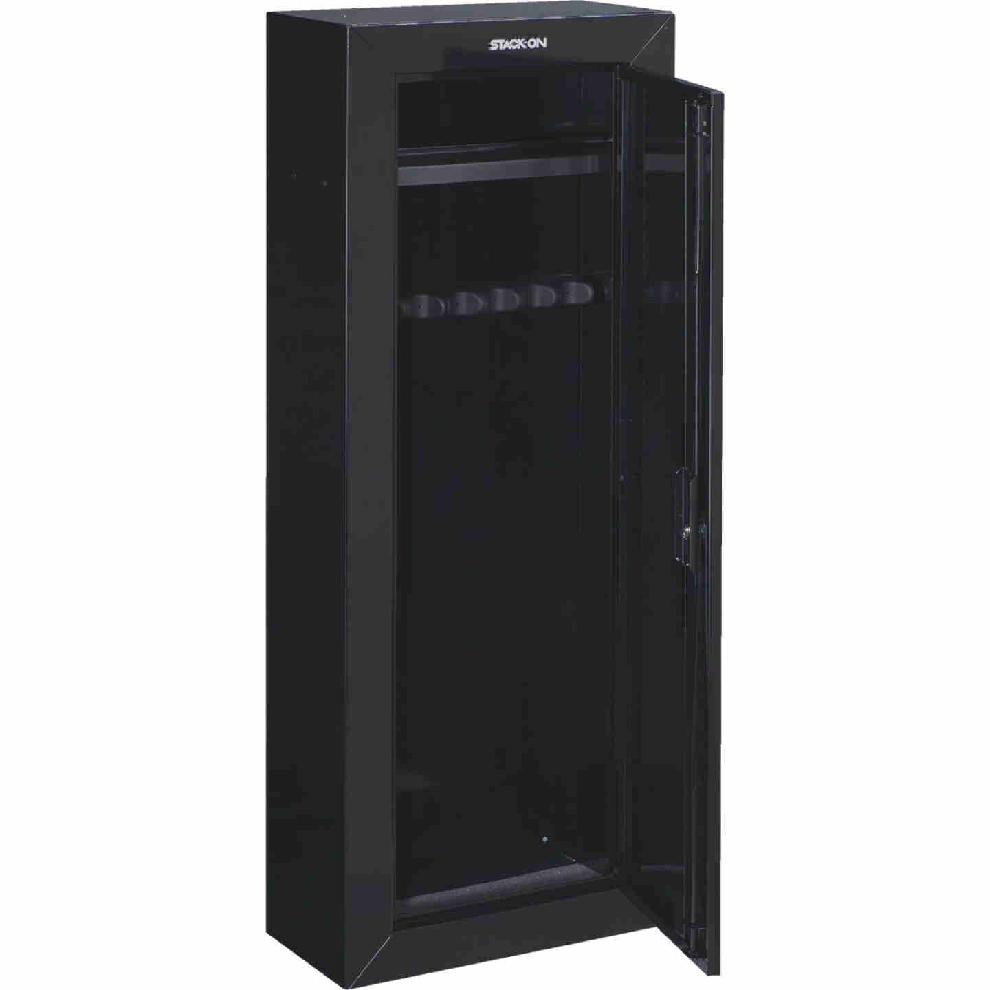 Stack-On 21 In. W. x 55 In. H. x 10 In. D. Heavy-Gauge Steel 8-Gun Lockable Cabinet Image 1